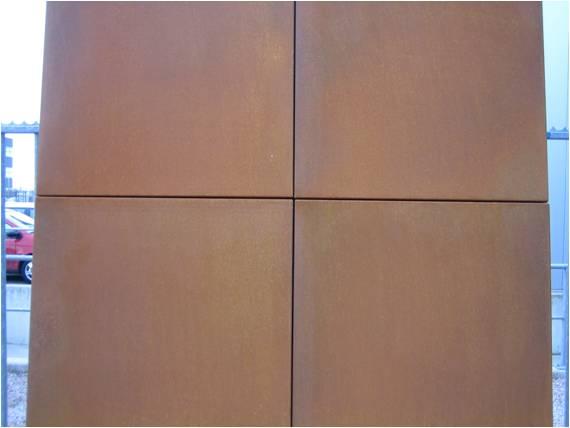 Staal corten :: ridder skins for buildings